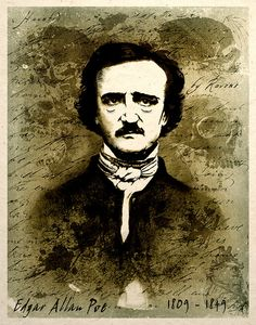 Edgar Allen Poe Print