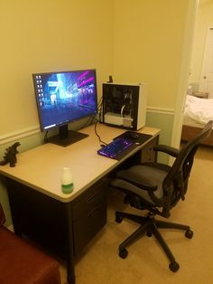 Just got a new desk and Chair any other tips? Thinking about getting some white desktop speakers any tips?