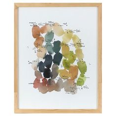 For the wall left of the fireplace (hung horizontally).  Main inspiration for color palate.
