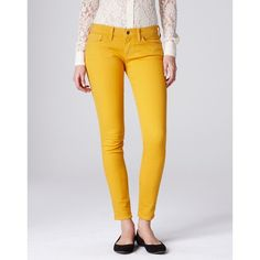 Lucky Brand Charlie Skinny Jeans ($50) ❤ liked on Polyvore