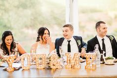 gold and pink vineyard wedding - photo by Catie Coyle Photography http://ruffledblog.com/gold-and-pink-vineyard-wedding