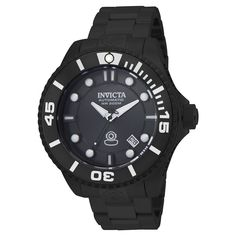 Men's Invicta 19810 Pro Diver Automatic 3 Hand Charcoal Dial Watch - Charcoal, Rich Charcoal