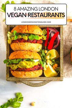 Vegan Cafe, Vegan Vegetarian, Vegetarian Recipes, Healthy Recipes, Best Vegan Restaurants, London Restaurants, Vegan Foods, Vegan Dishes, Healthy Menu