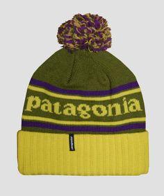 adef4b7b812 Patagonia Powder Town Beanie Hat Willow Herb Green