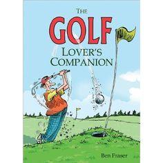 The Golf Lover's Companion  #WhimsicalUmbrella #Book #Golf #Gift whimsicalumbrella.com