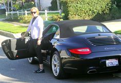 Wild, fast, and uncontrollable. Just like Lindsay Lohan, the Porsche 911 Cabriolet she owns is my favorite piece of bling. It may be over $100,000 in retail, but Im sure I could get the Bling Ring gang to steal it for me...a friend that gossips together; is a friend that steals together. // David O.