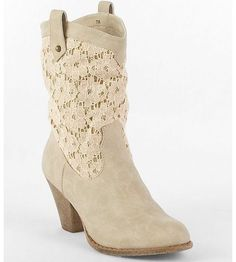 Cute lace boot!