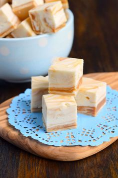 White Chocolate Caramel Fudge is a super easy recipe that requires no candy thermometer. Simple!