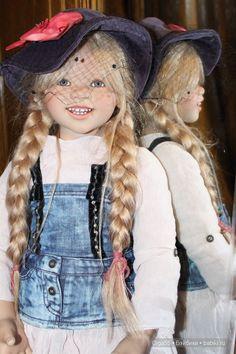 Наконец-то, Лилеморе приехала к нам на ПМЖ!!! Lilemore by Annette Himstedt / Коллекционные куклы Annette Himstedt / Бэйбики. Куклы фото. Одежда для кукол