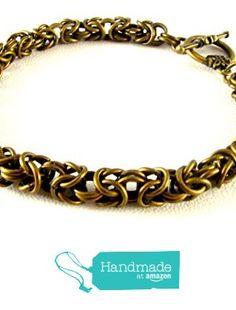 Byzantine Bracelet from By Brenda Elaine Jewelry http://www.amazon.com/dp/B018BKLRXE/ref=hnd_sw_r_pi_dp_beyCwb19EJ59R #handmadeatamazon