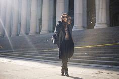 fashiontoast | 02/12/2014 not no slouch myself Sonia Rykiel coat, Jenni Kayne top, Reformation trousers, Terzakou Paris shoulder bag, Barbara Bui boots.