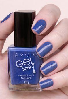 Conheça todas as cores da coleção Avon Gel Finish! Sensational Nails, The Art Of Nails, Nail Jewelry, Nail Colors, Colours, Nail Care, Pedicure, Nail Art Designs, Swatch