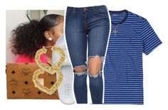 """""""8/16"""" by lookatimani ❤ liked on Polyvore featuring Ralph Lauren, MCM and Puma"""