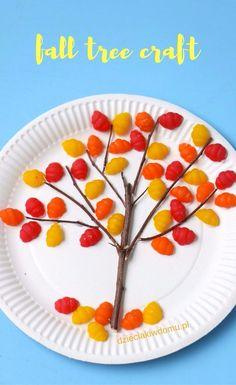 fall tree craft / jesienne drzewko praca dla dzieci