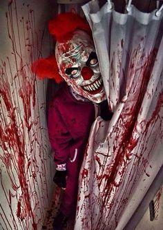 evil clown ,