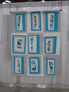 Blue Ice at Quiltcon | Flickr - Photo Sharing!