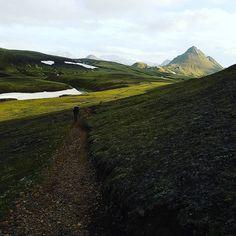 #trekking #iceland famous #laugavegur #trail #icelandtrek #trek #alftavatn
