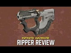 So folks! This time around it is The Ripper. They don't even call it the RPR – Ripper,that's how bad ass this weapon is! And many of you may remember this weapon bac kfrom Call of Duty: Ghosts, and I am glad to see it return to Infinite Warfare. Now the Ripper is part of the RPR sub...