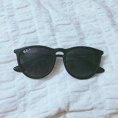 Black Ray-Ban sunglasses Erica style black ray ban sunglasses, perfect condition no signs of wear. Selling on Merc as well Ray-Ban Accessories Sunglasses