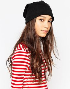 $63, Plush Fleece Lined Slouchy Beanie Hat. Sold by Asos. Click for more info: https://lookastic.com/women/shop_items/343428/redirect