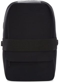 Y-3 Black Neoprene Qasa Backpack