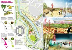 James Corner Field Operations Team winning Olympic Park South Competition