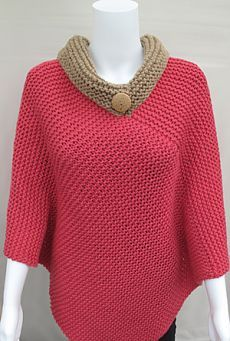 Morehouse Farm  Knitting Ponchos:  Aurora Poncho KnitKit