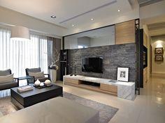 瘋設計 FUNDESIGN住家首選電視牆 TOP10 - 瘋設計 FUNDESIGN Bed Design, House Design, Wardrobe Design Bedroom, Home Interior Design, Layout, Living Room, Grey Goose, Tv Units, Wall Ideas