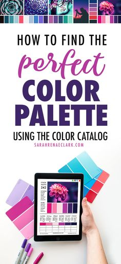 Learn how to find the perfect color palette using The Color Catalog - an interactive guide with 250 color palettes to help you find the best color scheme or color combination for craft, coloring, design, branding and more. Best Color Schemes, Good Color Combinations, Color Combos, Coloring Tips, Adult Coloring, Best Interior Paint, Paint Brands, Colour Pallette, Colouring Techniques