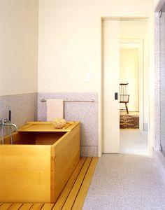 cool wood bath