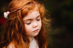 redhead   little girl photo shoot   fine art child photography   red hair