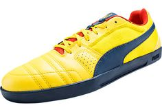 Puma Arsenal Paulista Novo Indoor Soccer Shoes - Empire Yellow