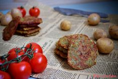 "Bramborové placky z trouby: """" Tempeh, Tofu, Vegan, Vegetables, Vegetable Recipes, Vegans, Veggies"