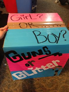 Gender reveal!!