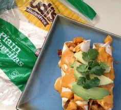 Chickpea Butternut Squash Enchiladas (Vegan & Gluten Free)