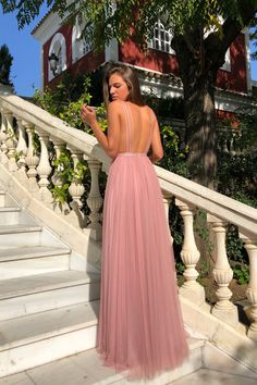 Sapghetti Straps Deep V-Neck A-Line Tulle Backless Sequin Prom Dresses – OkBridal Matric Dance Dresses, Sequin Prom Dresses, V Neck Prom Dresses, Gala Dresses, Long Bridesmaid Dresses, Evening Dresses, Formal Dresses, Prom Gowns, Casual Dresses