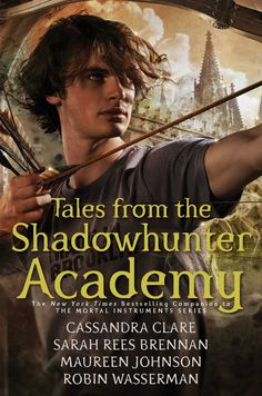 Simon Lewis on the hardcover of Tales from the Shadowhunter Academy, to be released Nov. 15