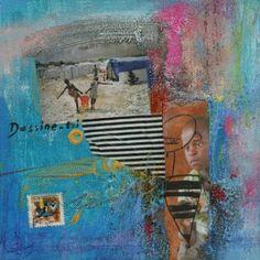 "Saatchi Art Artist Xiaoyang Galas; Painting, ""Dessine toi"" #art"