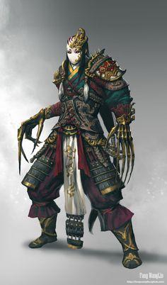 Image empire of samurai 23 in Urban Fantasy album Fantasy Character Design, Character Concept, Character Inspiration, Character Art, Concept Art, Fantasy Armor, Medieval Fantasy, Dark Fantasy, Dnd Characters