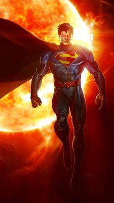 Superman - Man of Steel Batman Vs Superman, Arte Do Superman, Foto Batman, Superman Artwork, Superman Wallpaper, Superman Man Of Steel, Heros Comics, Dc Comics Art, Dc Heroes