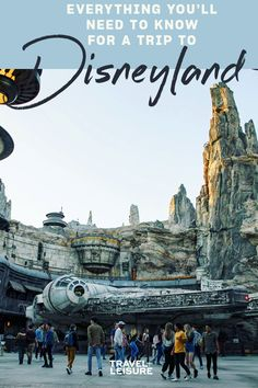 If you are planning a #familyvacation to the #Disney theme park in #California - here is everything you need to know about #Disneyland. #FamilyVacation #Travel #TravelWithKids #FamilyTrip #DisneyTips #DisneyFacts | Travel + Leisure