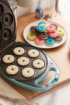 Pin for Later: 50 Lovely Items For the Perfect Breakfast in Bed Minidoughnut Maker Mini Donut Maker ($36)