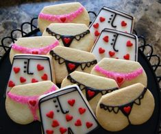 pictures of baked valentines - Google Search thought these were cute!