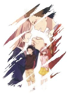 """A Silent Voice / Koe no Katachi"" Posters by Aishiruu Sad Anime, Otaku Anime, Anime Love, Anime Manga, Anime Films, Anime Characters, Koe No Katachi Anime, Cool Animes, A Silent Voice Anime"