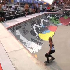 "naricain: "" Lizzie Armanto killing it at theVan Doren Invitational Women's Bowl. """