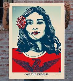 #WethePeople #Repost @obeygiant ・・・ Aaron Huey (@argonautphoto) and I have teamed up again for a series called WE THE PEOPLE; an effort meant to champion an appreciation for ethnic, cultural, and religious diversity because, hey- the people aren't one people, the people are ALL people. This series of 3 new graphics were commissioned by Aaron and the @amplifierfoundation for a Kickstarter campaign that launches TODAY! You can support the campaign by pledging NOW (link in bio)! Depending on…