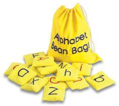 Amazon.com: Educational Insights Alphabet Bean Bags: Toys & Games