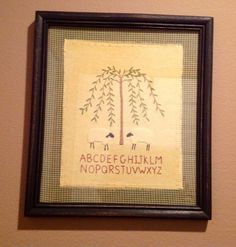 Wall Picture.......ofgfaap by hootnanniesbyjeanne on Etsy, $18.00
