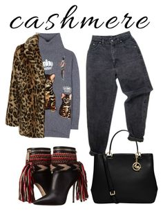 """🐱 cashmere"" by ralugoii on Polyvore featuring Dolce&Gabbana, Levi's, Dsquared2, MICHAEL Michael Kors and New Look"