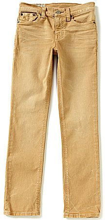 Ralph Lauren Childrenswear Big Boys 8-20 Modern-Fit Skinny Jeans